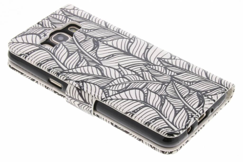 Feuilles Vertes Cas Conception Booktype Tpu Pour Samsung Galaxy J5 (2016) qiYOrVsqr