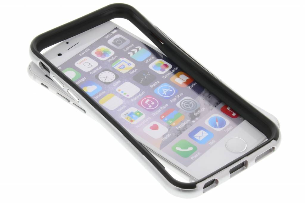 Zilveren bumper voor de iPhone 6 / 6s