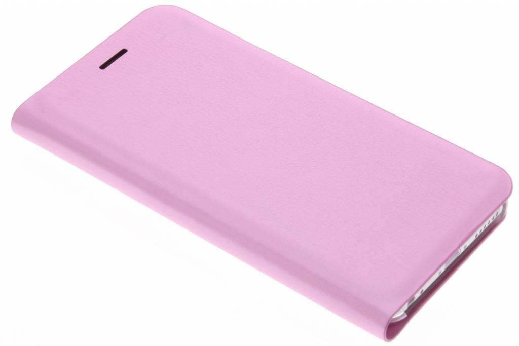 Roze luxe slim booktype hoes voor de iPhone 6 / 6s