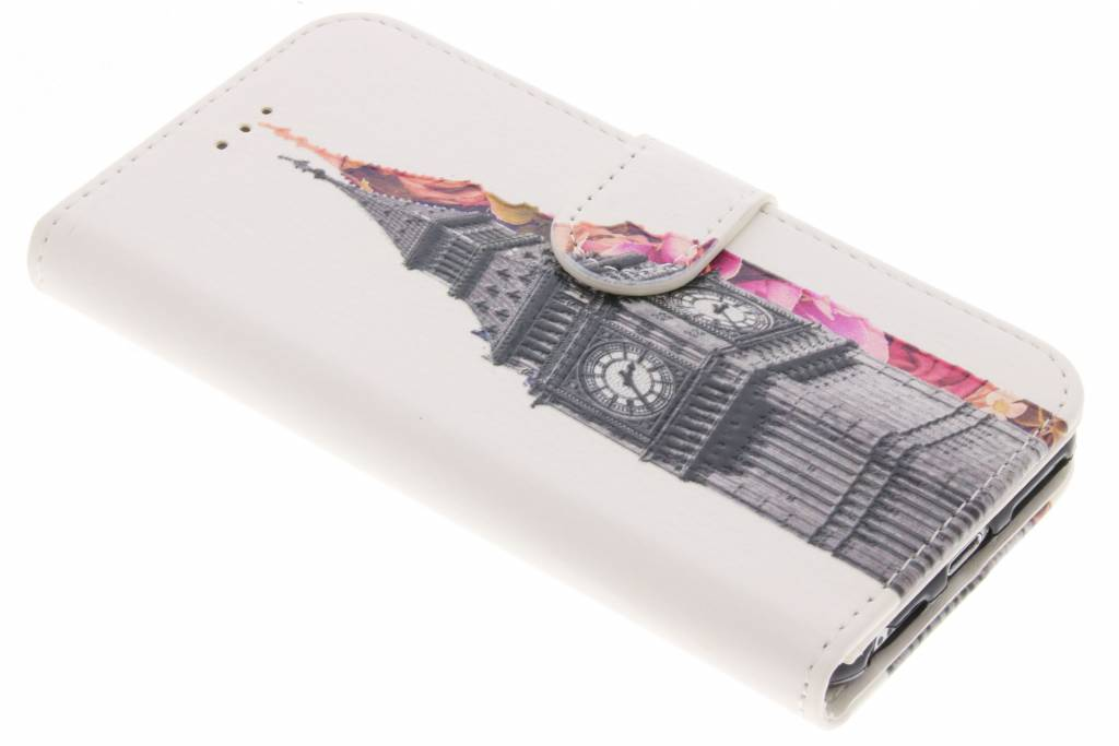 Big Ben design TPU booktype hoes voor de iPhone 8 / 7 / 6s / 6