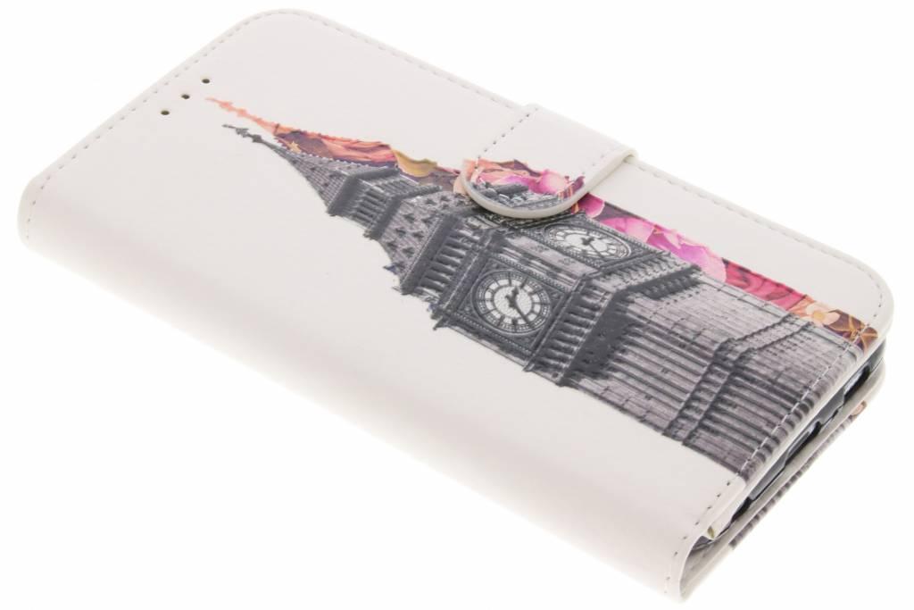 Big Ben design TPU booktype hoes voor de Samsung Galaxy S6