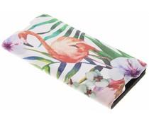 Flamingo Design Booklet Sony Xperia XA1