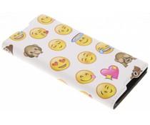 Emoji Design Booklet Sony Xperia XA1
