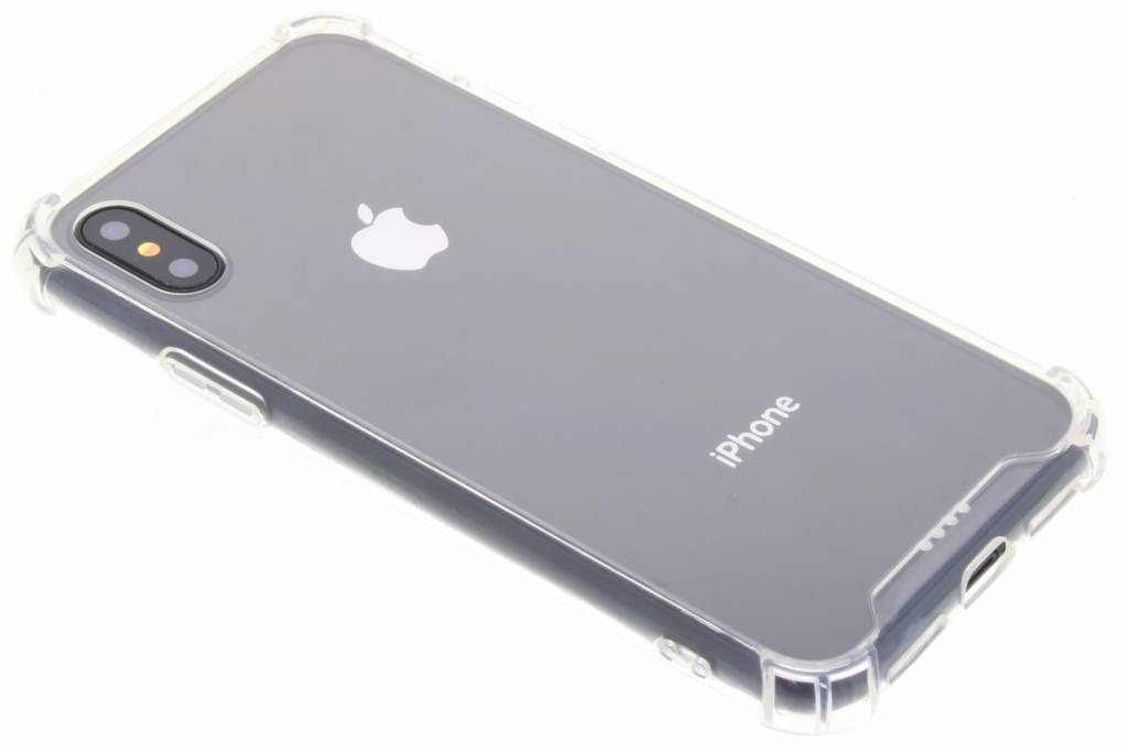 Accezz Transparante Xtreme TPU Cover voor de iPhone X