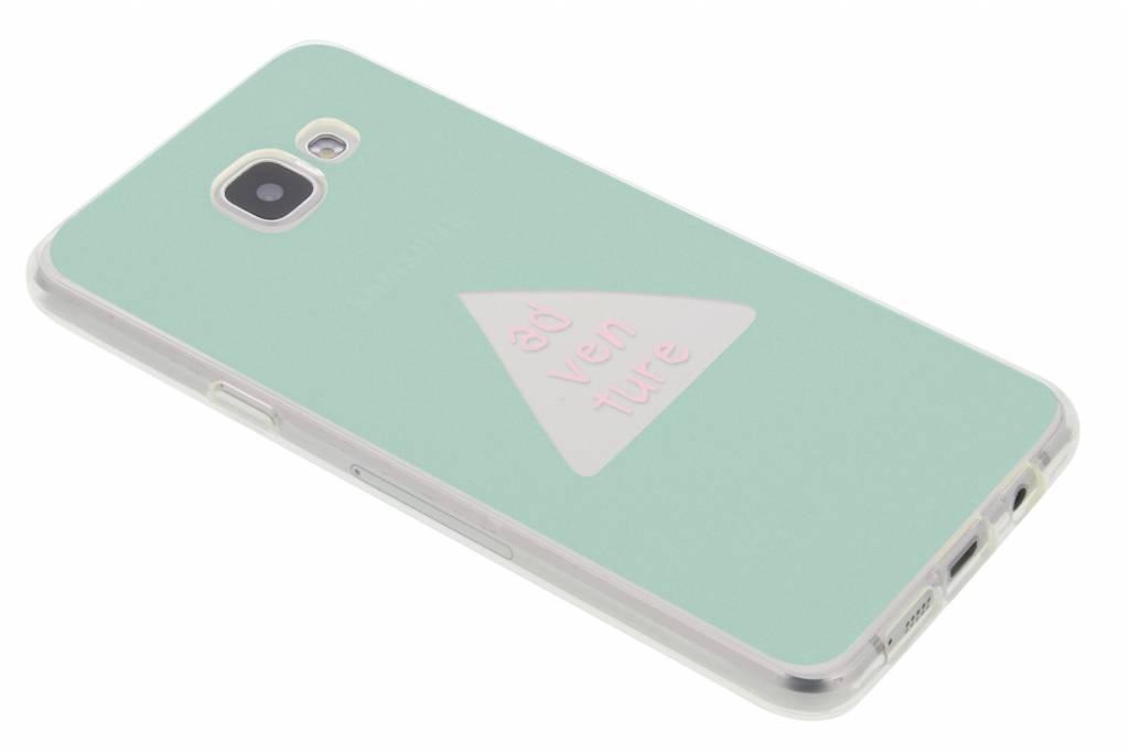 Fleurs De Trèfle Turquoise Cas Booktype Pour Samsung Galaxy A5 (2016) 8SqHBG6