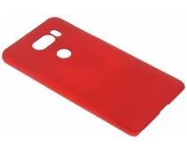 Rood effen hardcase hoesje LG V30