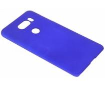 Blauw effen hardcase hoesje LG V30