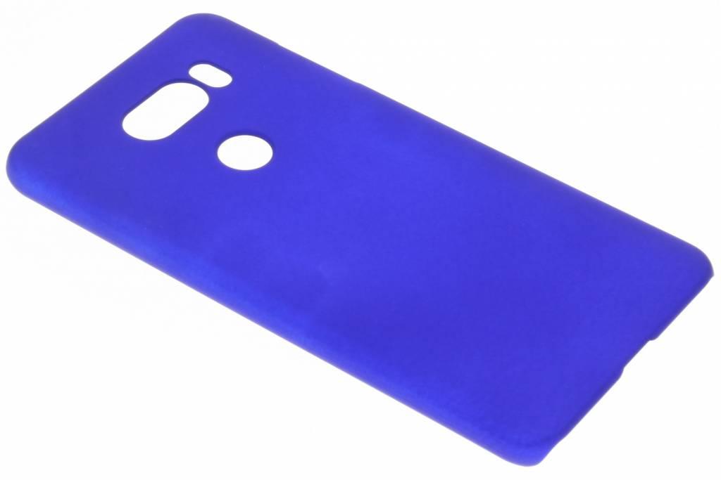 Blauw effen hardcase hoesje voor de LG V30