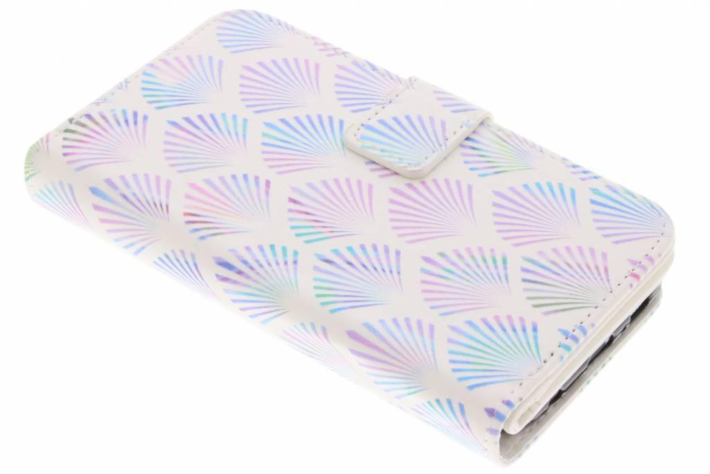 Waaier design TPU portemonnee voor de Samsung Galaxy S6
