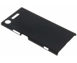 Zwart effen hardcase hoesje Sony Xperia XZ1