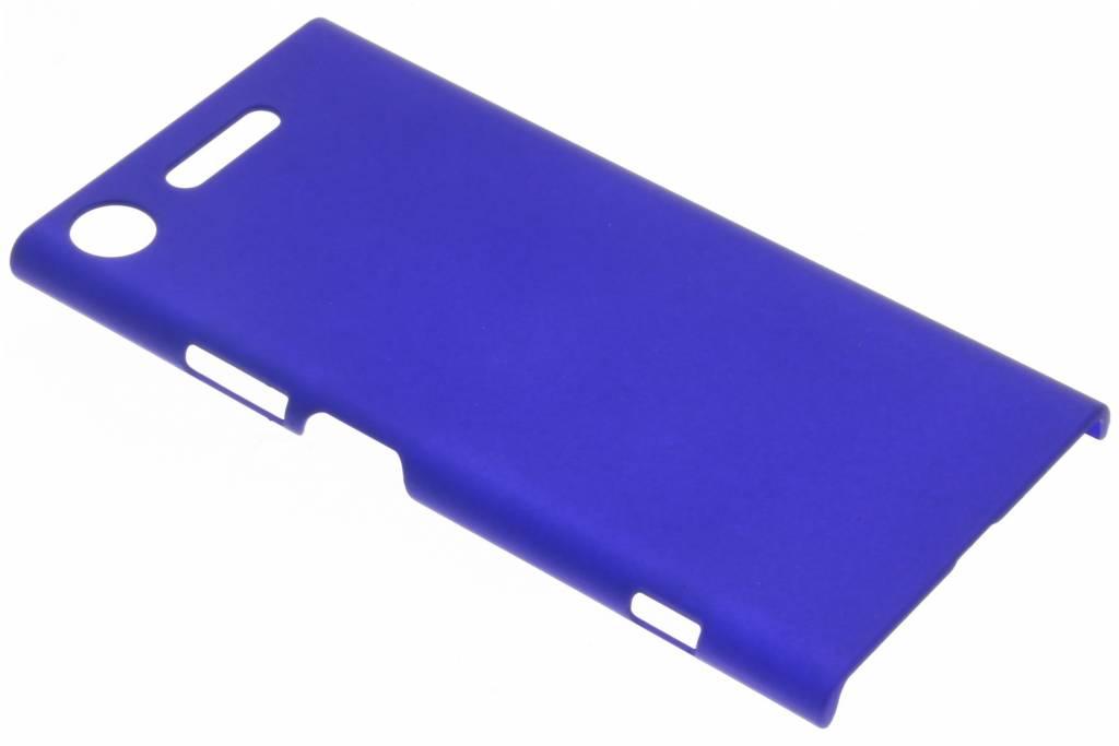 Blauw effen hardcase hoesje voor de Sony Xperia XZ1