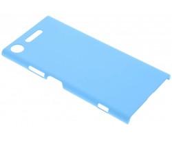 Turquoise effen hardcase hoesje Sony Xperia XZ1
