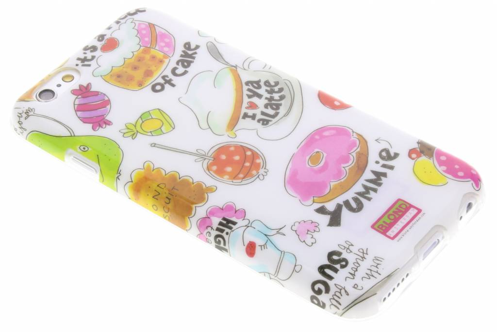 Blond Amsterdam A Piece Of Cake Softcase voor de iPhone 6 / 6s