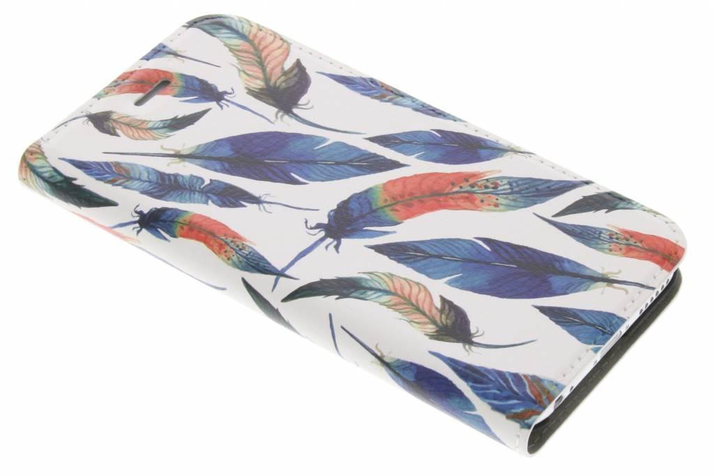 Ibiza Feather Design Booklet voor de iPhone 6 / 6s