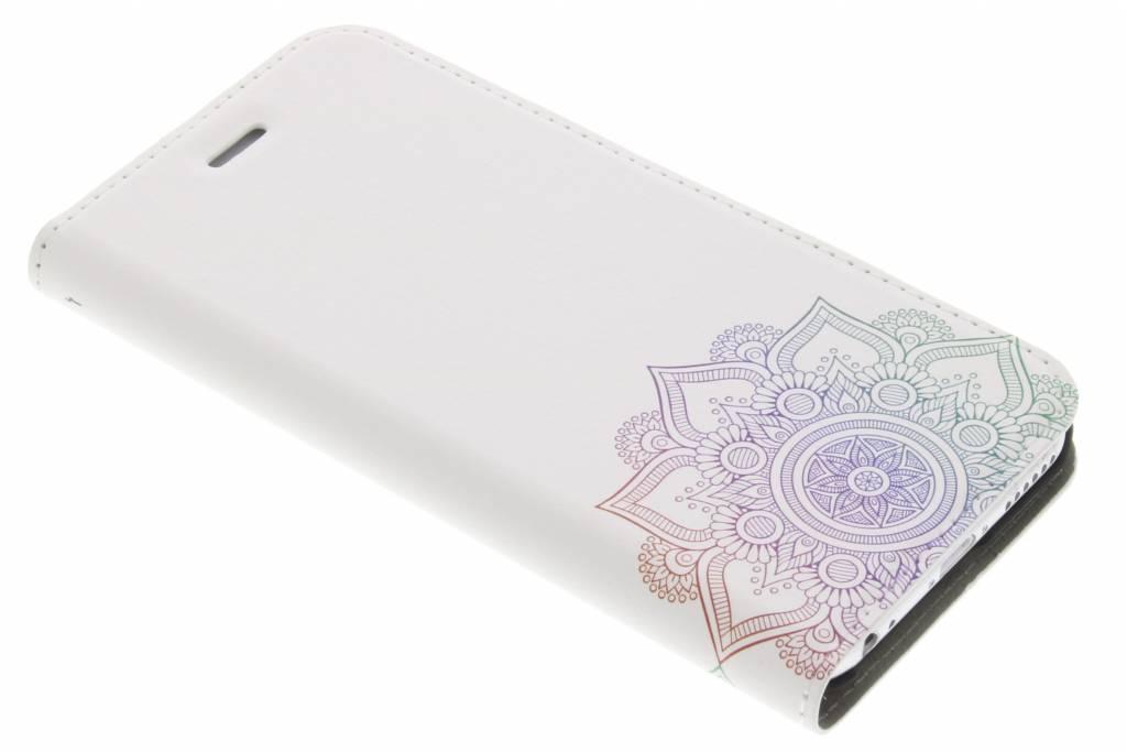 Multicolor Mandala Design Booklet voor de iPhone 6 / 6s