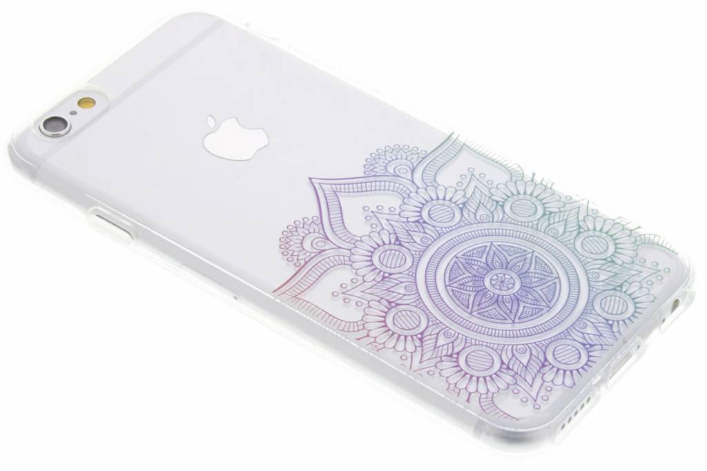 Multicolor mandala design TPU hoesje voor de iPhone 6 / 6s
