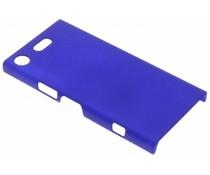 Blauw effen hardcase hoesje Sony Xperia XZ1 Compact
