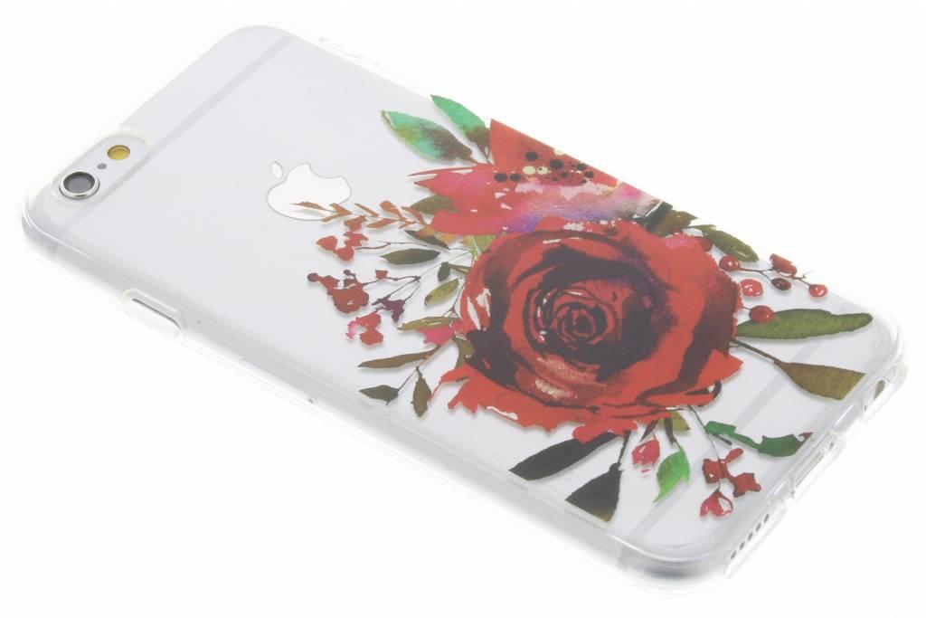 Red Rose Love TPU hoesje voor de iPhone 6 / 6s