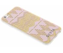 Guess Tribal Gel Case iPhone 6 / 6s - Roze
