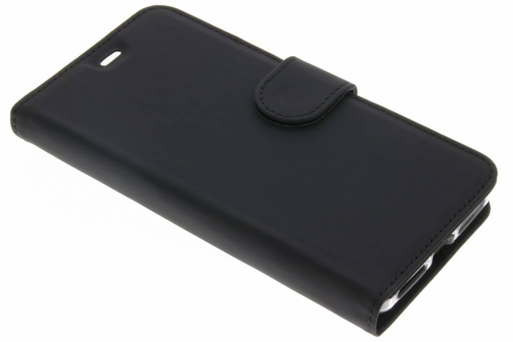 Accezz Zwarte Wallet TPU Booklet voor de General Mobile 4G / GM5