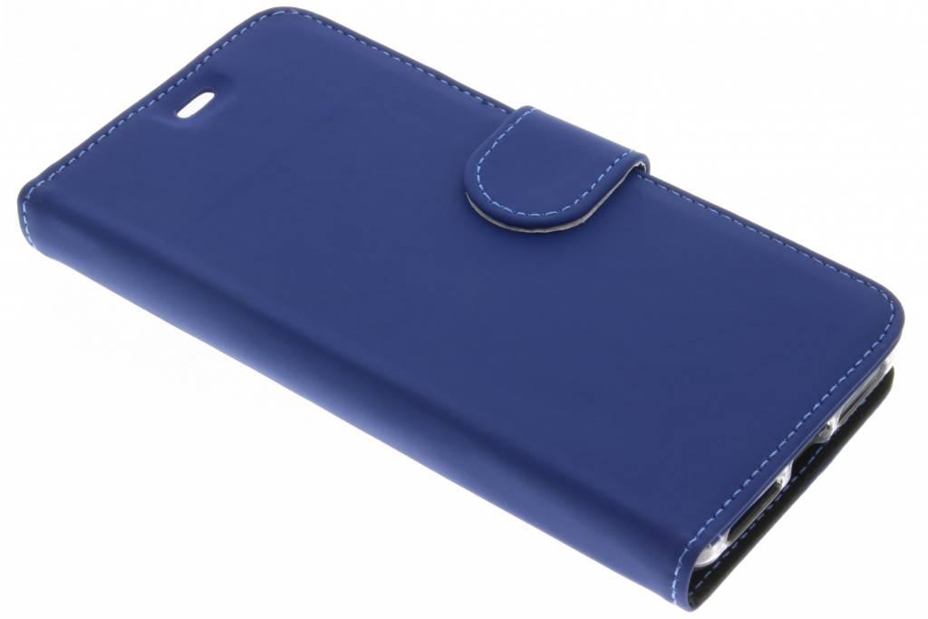 Accezz Blauwe Wallet TPU Booklet voor de General Mobile 4G / GM5