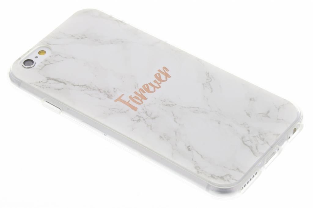 BFF White Marble Love TPU hoesje voor de iPhone 6 / 6s