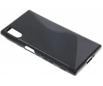 Zwart S-line TPU hoesje Sony Xperia XZ / XZs