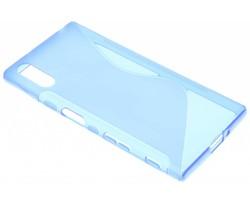 Blauw S-line TPU hoesje Sony Xperia XZ / XZs
