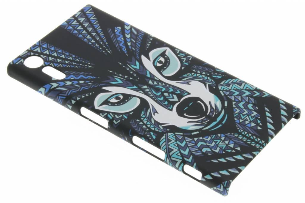 Wolf aztec animal design hardcase voor de Sony Xperia XZ / XZs