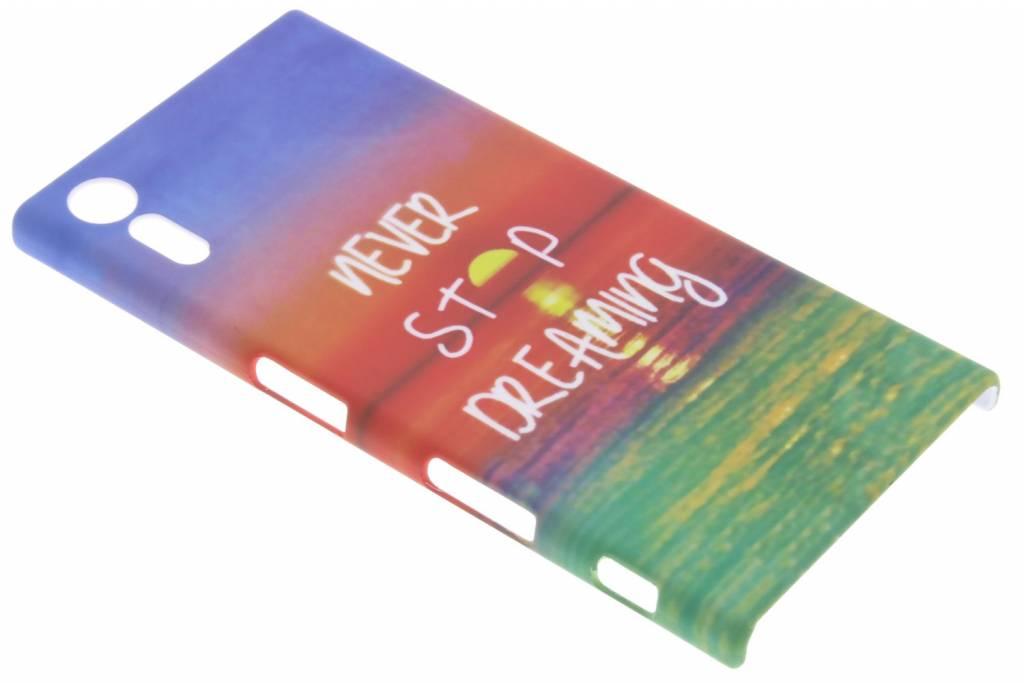 Dreaming design hardcase hoesje voor de Sony Xperia XZ / XZs