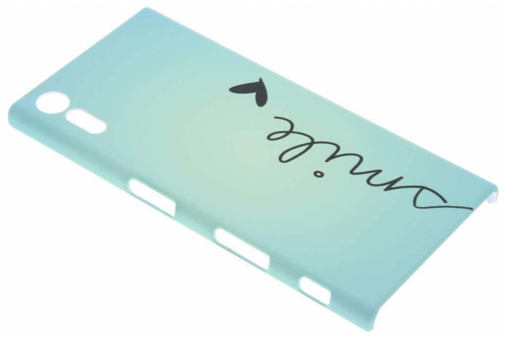 Smile design hardcase hoesje voor de Sony Xperia XZ / XZs