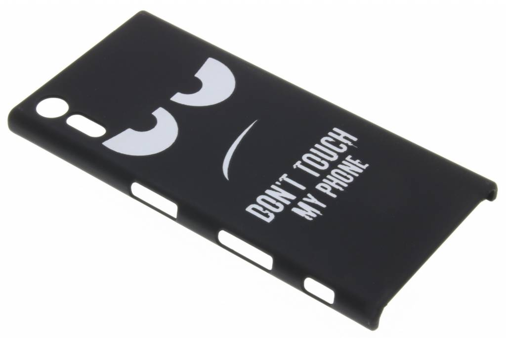 Don't touch design hardcase hoesje voor de Sony Xperia XZ / XZs