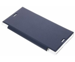 Transparant slim booktype hoes Sony Xperia XZ / XZs