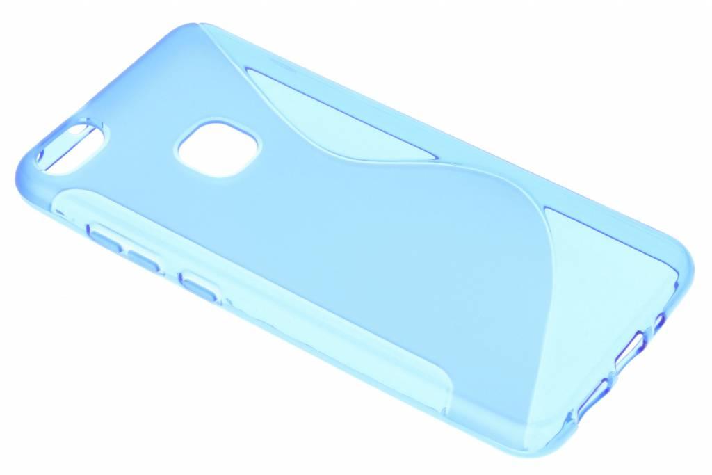 Blauw S-line TPU hoesje voor de Huawei P10 Lite