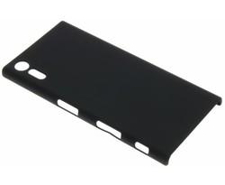 Zwart effen hardcase hoesje Sony Xperia XZ / XZs