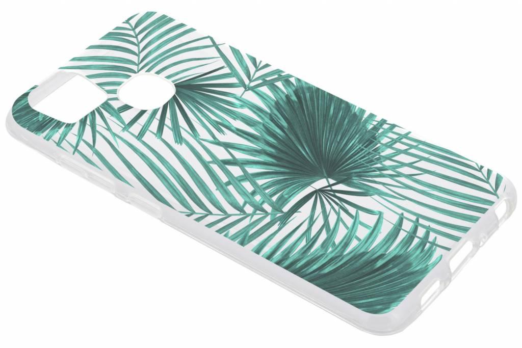 Green Leaves design TPU hoesje voor de Asus Zenfone 3 Zoom / Zoom S