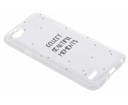 Quote design TPU hoesje LG Q6