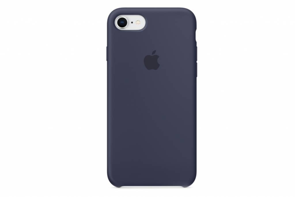 Apple Blauwe Silicone Case voor de iPhone 8 / 7
