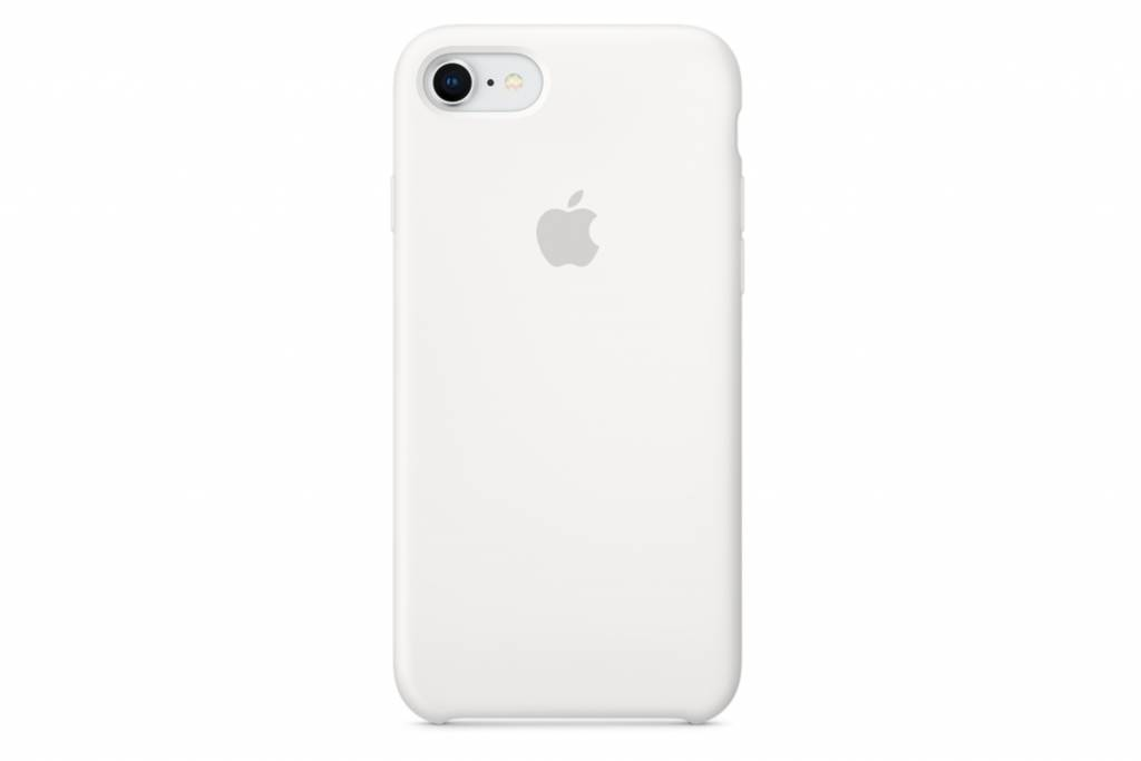 Apple Witte Silicone Case voor de iPhone 8 / 7