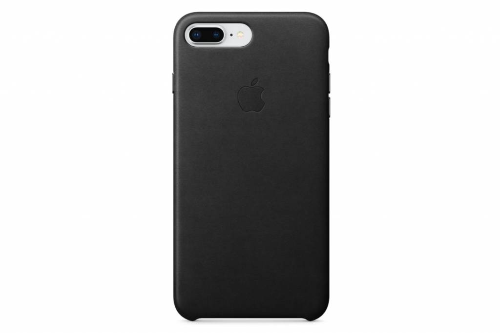 Apple Zwarte Leather Case voor de iPhone 8 Plus / 7 Plus