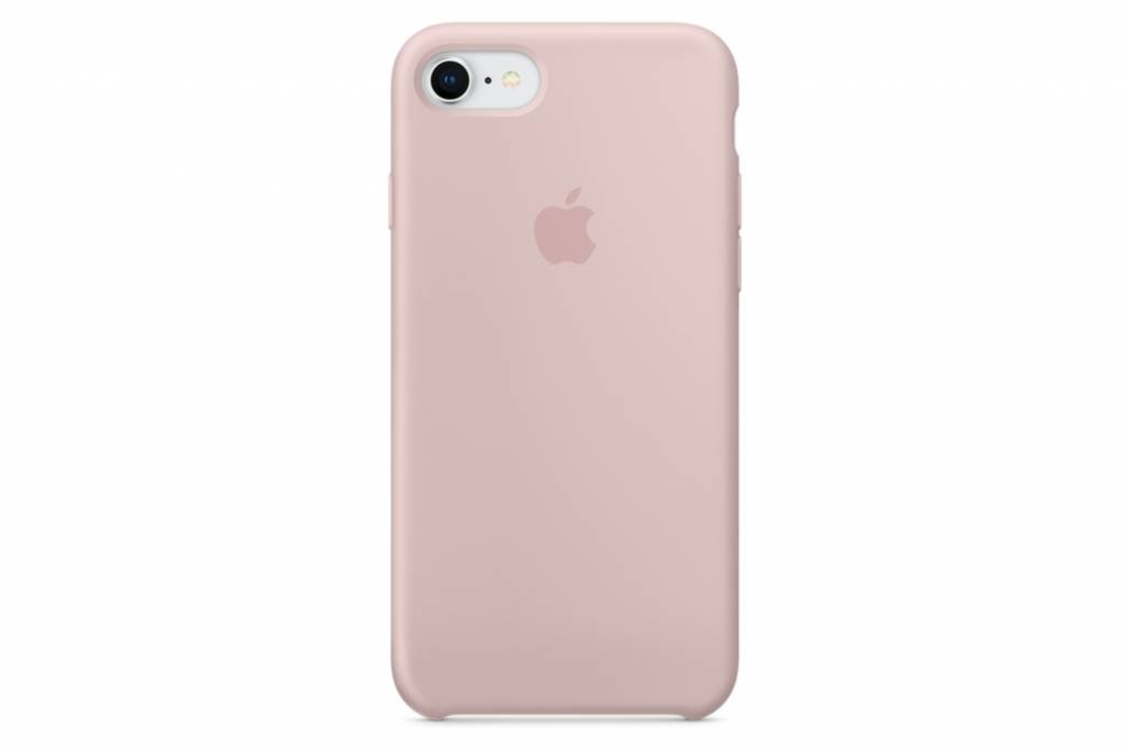 Apple Roze Silicone Case voor de iPhone 8 / 7