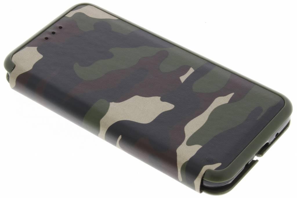 Groene Army Slim Folio Case voor de Samsung Galaxy J3 / J3 (2016)