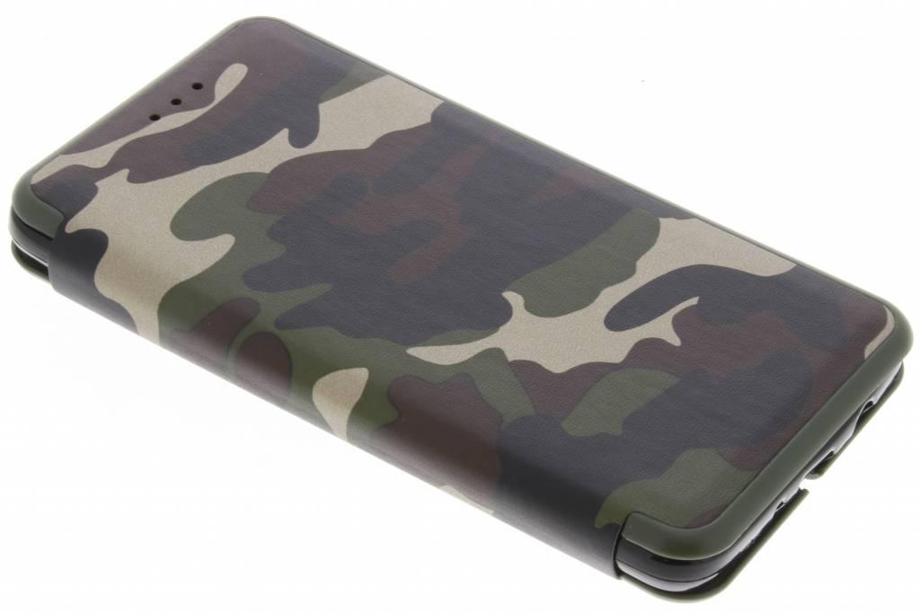 Groene Army Slim Folio Case voor de Samsung Galaxy J5 (2016)