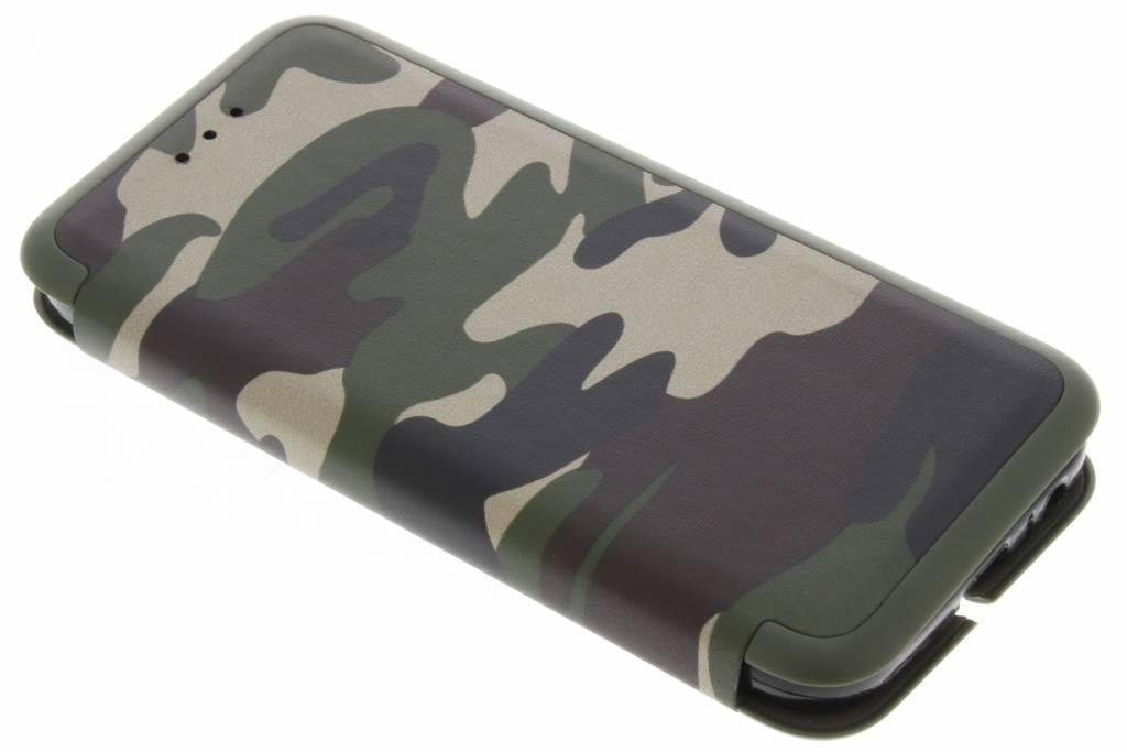 Groene Army Slim Folio Case voor de Samsung Galaxy A3 (2017)