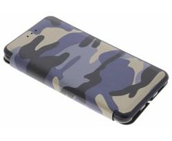 Army Slim Folio Case Huawei Y6 (2017)