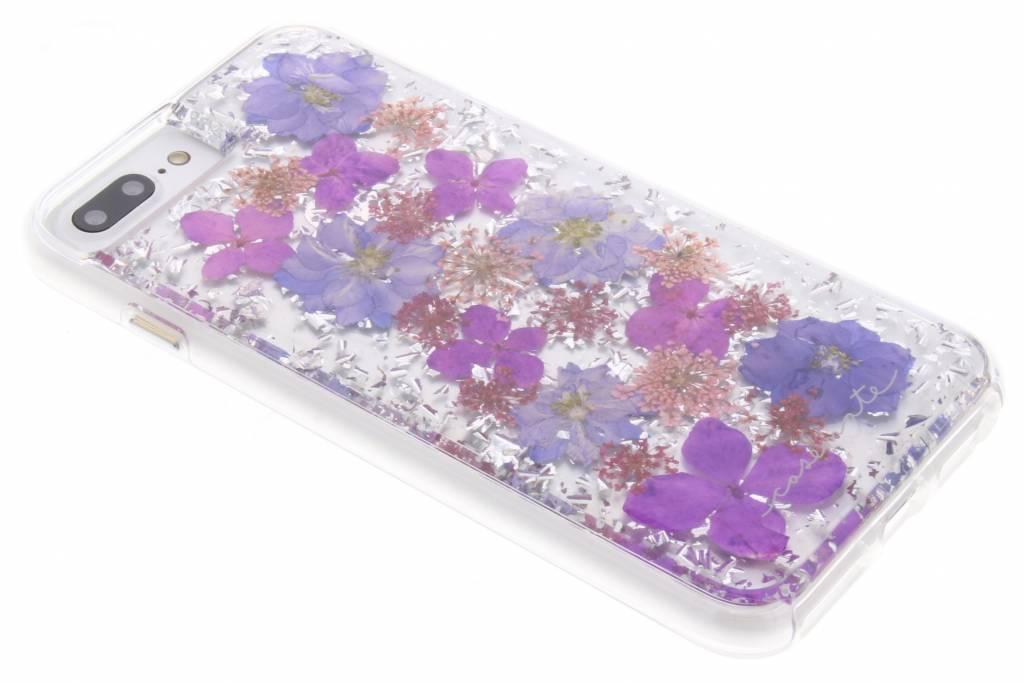 Paarse Karat Petals Case voor de iPhone 8 Plus / 7 Plus / 6(s) Plus