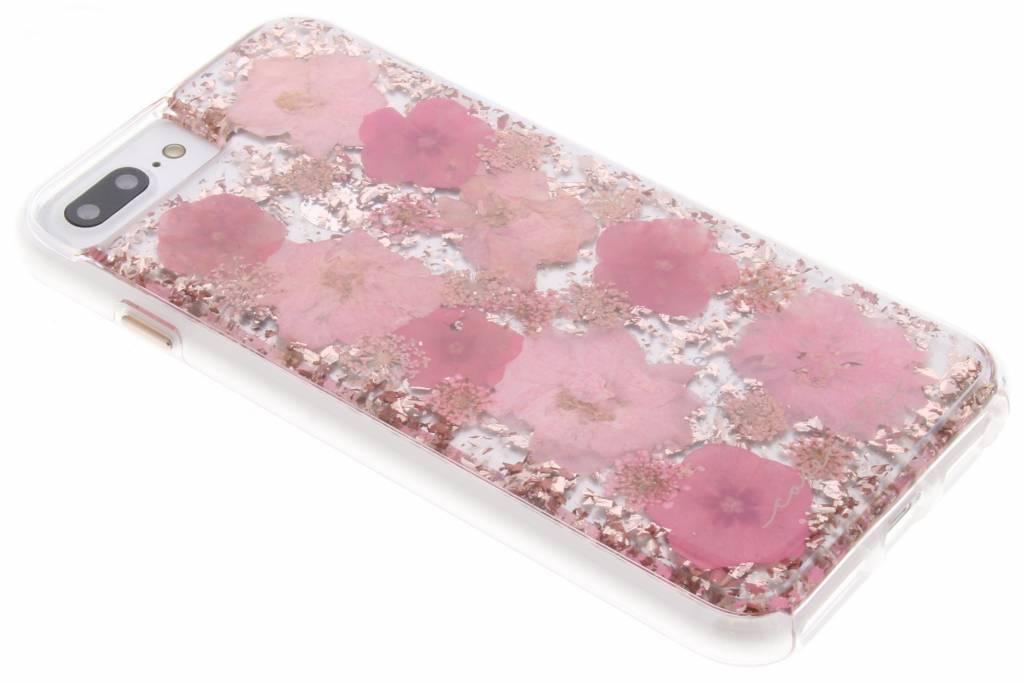 Roze Karat Petals Case voor de iPhone 8 Plus / 7 Plus / 6(s) Plus