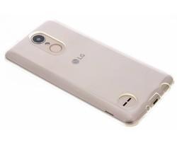 Transparant gel case LG K8 (2017)