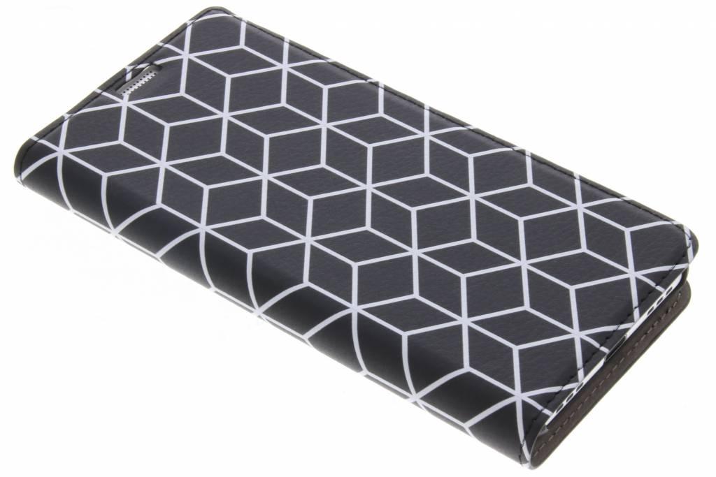 Cubes Black Design Booklet voor de BlackBerry KeyOne