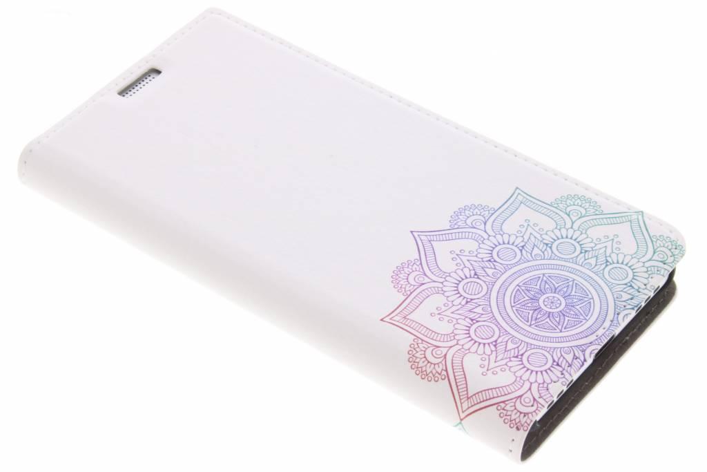 Multicolor Mandala Design Booklet voor de BlackBerry KeyOne